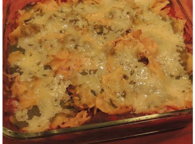 Tex-Mex Casserole with Kale and Zucchini