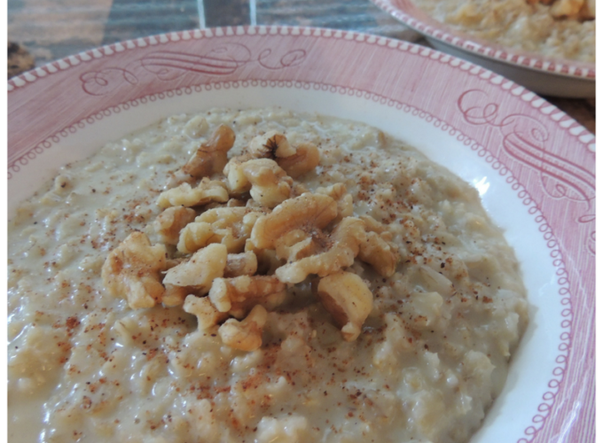Basic Oatmeal with Variations
