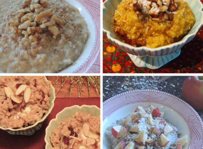 Oatmeal, with Variations