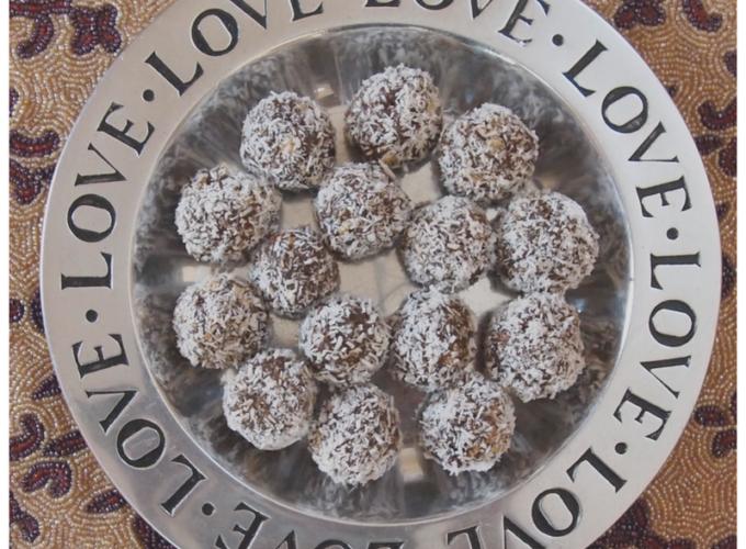 Coconutty Truffles