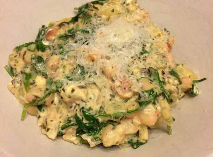 Polenta and Vegetables (Stovetop version)