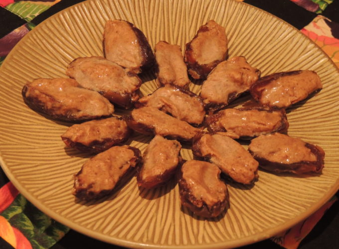 Dates with Almond Butter